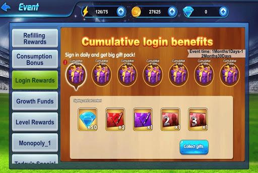 Code Triche Football  Management Star APK MOD (Astuce) screenshots 5