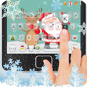 Cartoon Christmas Keyboard Theme