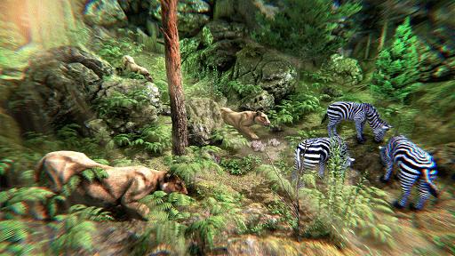 Wild Lion Simulator - Animal Family Survival Game  screenshots 1