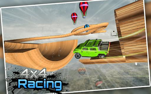 Racing Stunts in Car 3D: Mega Ramp Crazy Car Games  screenshots 8