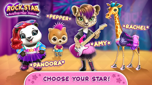 Rock Star Animal Hair Salon - Super Style & Makeup 4.0.70031 screenshots 1