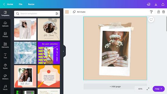 Canva: Graphic Design, Video Collage, Logo Maker Screenshot