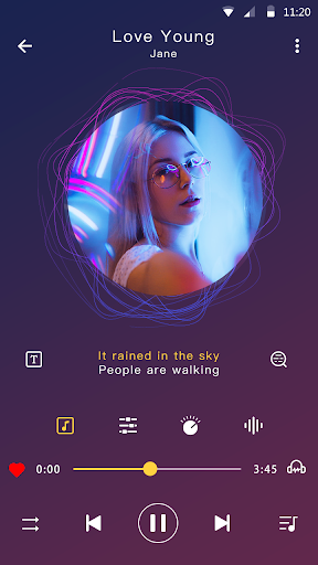 Music player - MP3 player & Audio player android2mod screenshots 1