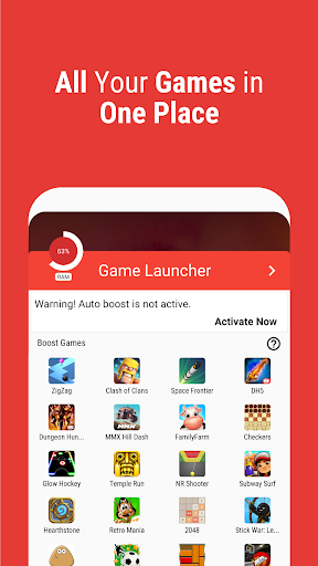 Game Booster | Launcher - Faster & Smoother Games android2mod screenshots 7