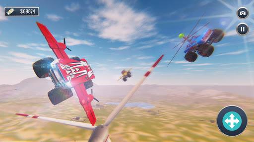 Offroad Flying Monster Truck Driving screenshots 1