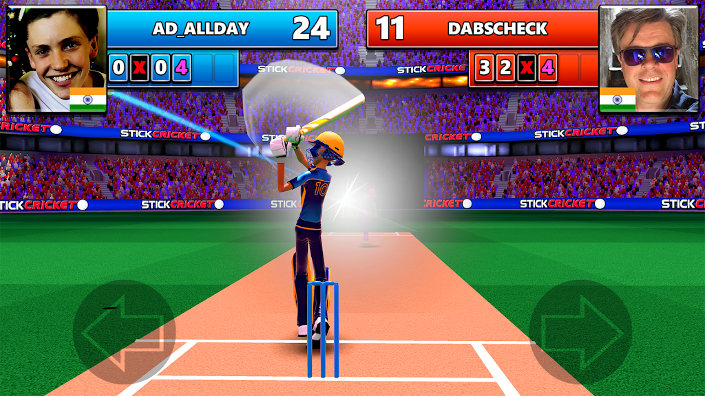 Stick Cricket Live 21 - Play 1v1 Cricket Games poster 0
