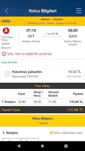 Ucuzabilet - Flight Tickets 3.1.8 Screenshots 4