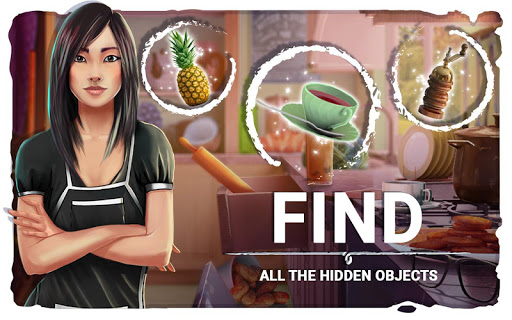 Hidden Objects Messy Kitchen – Cleaning Game  screenshots 2