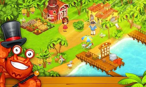 Farm Island  Hay Bay City Paradise Apk Download 4
