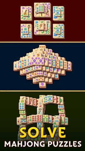 Pyramid of Mahjong: A tile matching city puzzle  screenshots 3