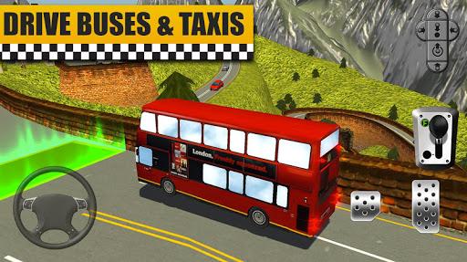Bus & Taxi Driving Simulator  screenshots 8