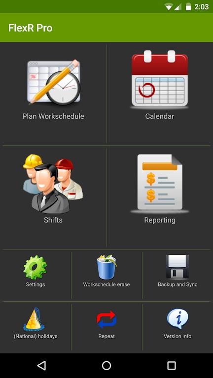 Shift Work Calendar (FlexR Pro)  poster 1