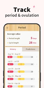 Period Tracker – Period Calendar Ovulation Tracker 6