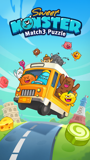 Sweet Monsteru2122 Friends Match 3 Puzzle | Swap Candy 1.3.2 screenshots 5