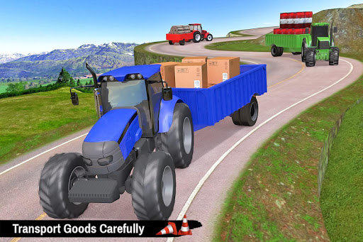 Tractor Trolley Parking Drive - Drive Parking Game 2.6 Screenshots 4