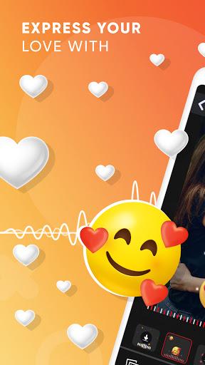 Love Beats - MBit Particle.ly Video Status Maker 0.0.8 screenshots 1