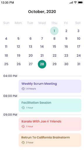 Calendar android2mod screenshots 1