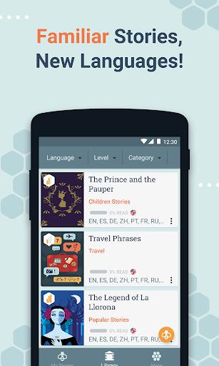 Beelinguapp: Learn Languages Music & Audiobooks modavailable screenshots 7