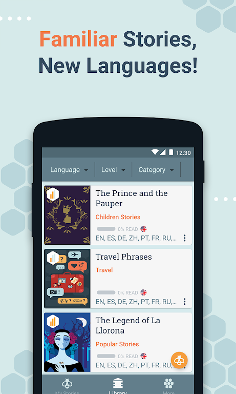 Beelinguapp: Learn Languages Music & Audiobooks  poster 6