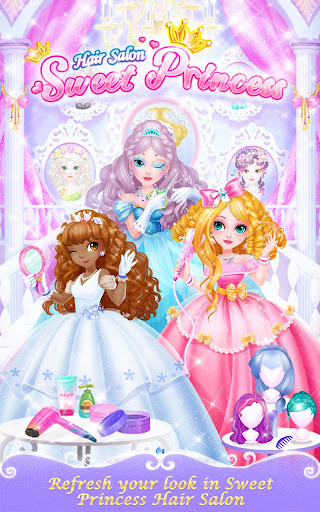Sweet Princess Hair Salon 1.1.0 Screenshots 1