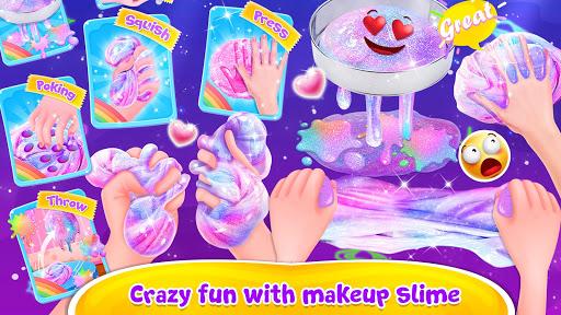Bubble Balloon Makeup Slime  - Slime Simulator  screenshots 4