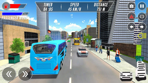 Modern Bus Drive Simulator - Bus Games 2021 android2mod screenshots 6