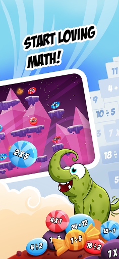 Monster Math 2: Fun Math Games. Kids Grade K-5 1143 screenshots 2