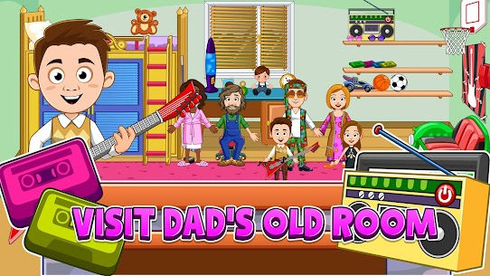 My Town : Grandparents Free For Android (MOD, Unlimited Money) 9