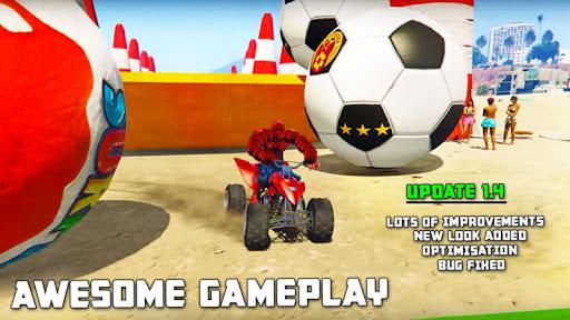 ATV Quads Superheroes Stunts Racing APK MOD Download 1