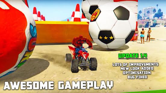 ATV Quads Superheroes Stunts Racing 1.12 screenshots 1