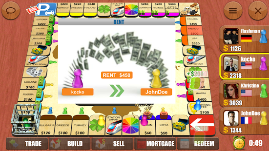 Rento - Dice Board Game Online Screenshot