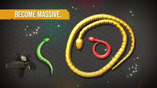 Snake Worms .io - Fun Addicting Games Zone Screenshot