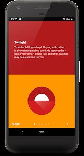 Twilight Blue light filter for better sleep v12.1 Mod APK 3