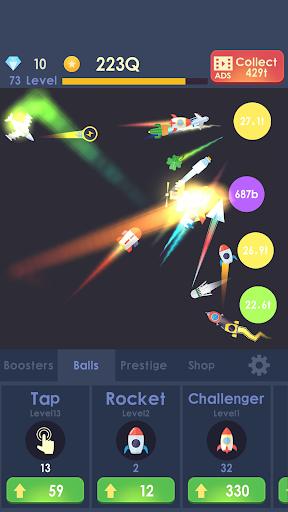 Idle Rocket - Aircraft Evolution & Space Battle  screenshots 1