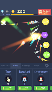 Idle Rocket MOD Apk 1.1.12 (Unlocked) 1