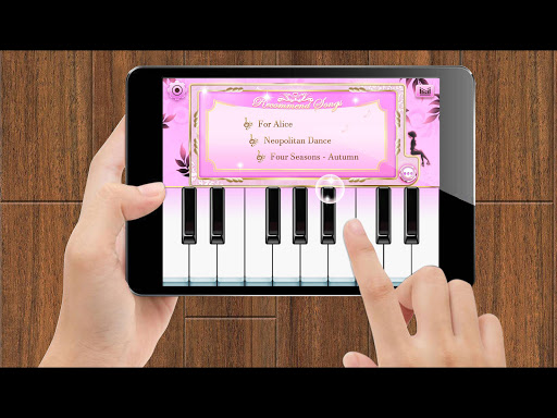 Foto do Piano Master Pink: Magic Piano Keyboard