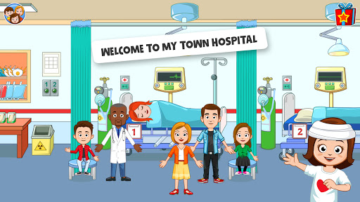 My Town : Hospital and Doctor Games for Kids  screenshots 1