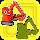 子供向け車パズル―車両の音 - car puzzles and sounds - Androidアプリ