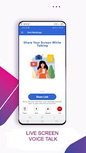 Vani Meetings – Share Screen While Talking 3
