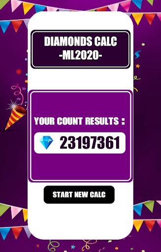 Free Diamonds Counter for Mobile Legendssu2122 | 2020 1 Screenshots 2
