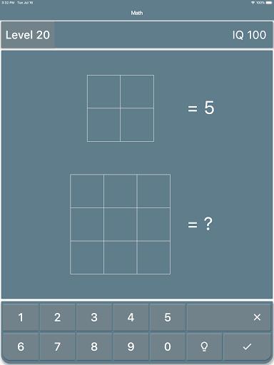 Math Riddles: IQ Test  screenshots 6