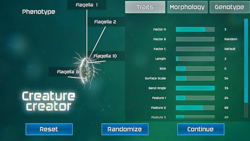 Bionix - Spore & Bacteria Evolution Simulator 3D  screenshots 8