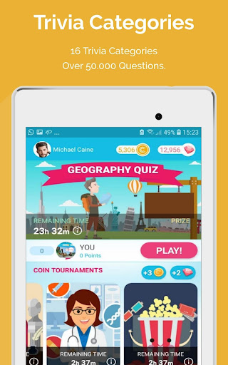 CASH QUIZZ REWARDS: Trivia Game, Free Gift Cards 3.2.18 screenshots 15