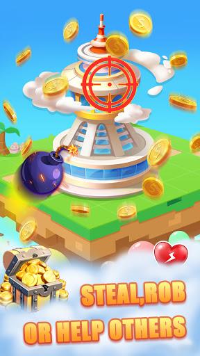 Coin Town - Merge, Run casino, Social interact  screenshots 4