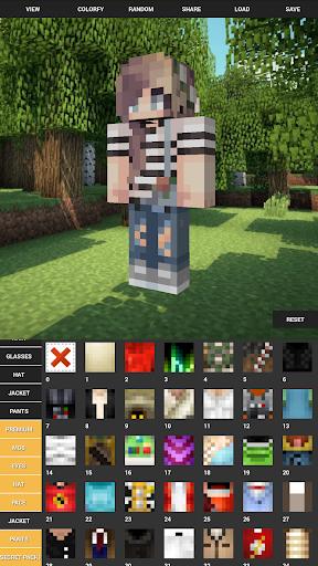Custom Skin Creator For Minecraft apktram screenshots 1