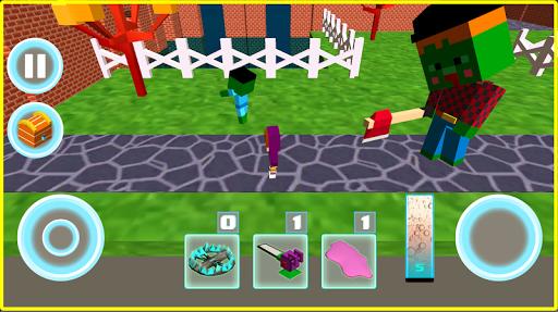 Monster school 3 Herobrine vs zombie apocalypse  screenshots 6