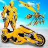 Ikon Flying Bee Robot Car Transforming Game: Robot Game APK