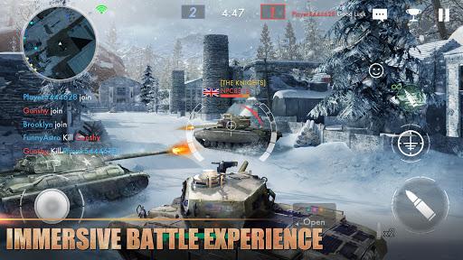Tank Warfare: PvP Blitz Game  screenshots 3