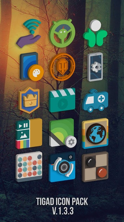 Tigad Pro Icon Pack  poster 0