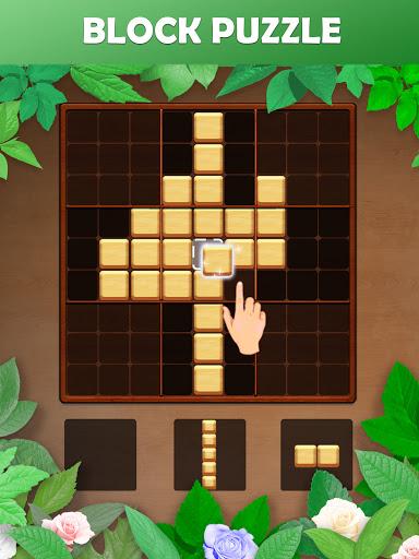 Wood Block Puzzle: Reversed Tetris & Block Puzzle android2mod screenshots 14